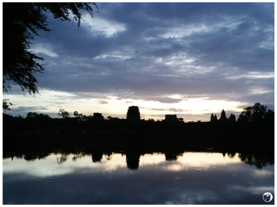 Sunrise at the Ankor Wat